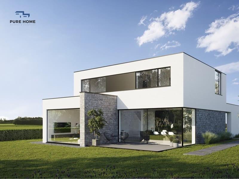 Construction Q-Zen toiture plate Intégrale