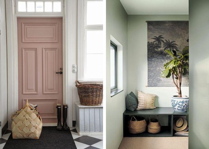 Aménagement d'un hall d'entrée d'une maison sur mesure - Entreprise de construction belge