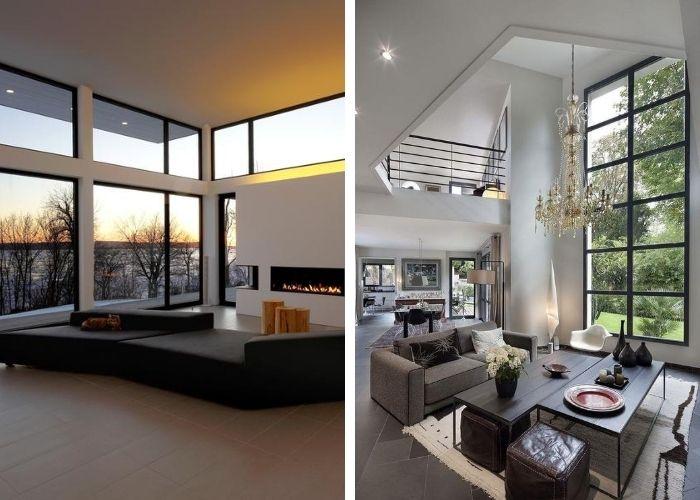 Baies vitrées - Maison sur mesure