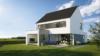 Maison sur mesure toiture double versants - Entreprise de construction Liège