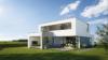 Maison sur mesure toiture plate - Entreprise de construction Liège