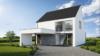 Maison vue avant avec toiture double versant - Entreprise de construction Liège