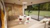 Entreprise de construction sur mesure - intérieur d'une maison zéro énergie