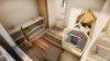 Intérieur d'une maison sur mesure zéro énergie