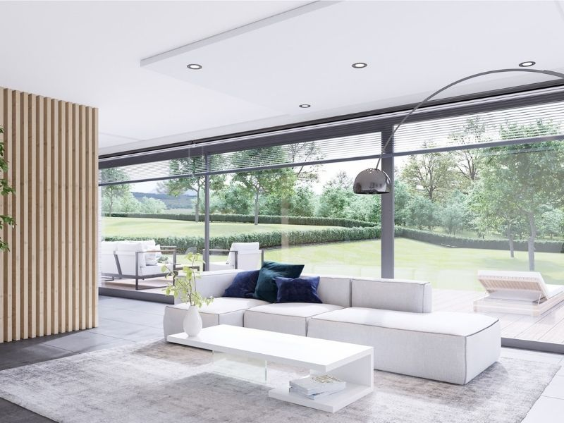 Décoration d'une maison bio-écologique - Entreprise de construction Liège
