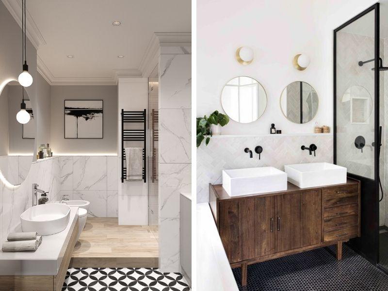 Salle de bains design - Entreprise de construction Liège