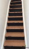 Transformation et extension d'une ancienne maison, Cerexhe, escalier